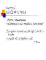 Bài giảng triết học - Chương 9