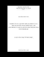 NGHIÊN CỨU SỰ TẠO PHỨC ĐƠN ĐA PHỐI TỬ CỦA MỘT SỐ NGUYÊN TỐ ĐẤT HIẾM NẶNG VỚI L-METHIONIN VÀ AXETYLAXETON BẰNG PHƯƠNG PHÁP CHUẨN ĐỘ ĐO pH .pdf