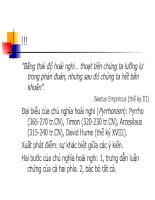Bài giảng triết học - Chương 13