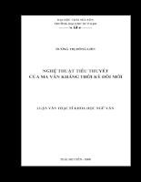 Nghệ thuật tiểu thuyết của Ma Văn Kháng thời kỳ đổi mới.pdf