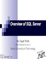 SQL Server - Bài 1