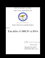 Tìm hiểu về DHCP và DNS