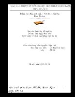 Xây dựng website giới thiệu về danh lam thắng cảnh sapa