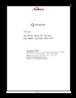 Hướng dẫn sử dụng Hệ điều hành Ubuntu