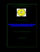 Nghiên cứu hành vi tiêu dùng bút bi Thiên long của sinh viên truờng Đại Học An Giang