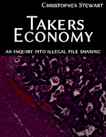 Takers Economy  An Inquiry Into Illegal File Sharing