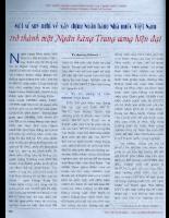 Một số suy nghĩ về xây dựng Ngân hàng Nhà nước Vỉệt Nam .pdf