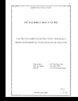 Vai trò của kiểm toán nhà nước trong quá trình thẩm định dự toán ngân sách nhà nước.pdf