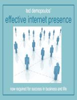 Effective internet presence
