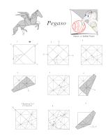 Origami - pegasus