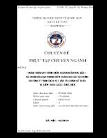 Hoàn thiện quy trình kiểm toán khoản mục đầu tư tài chính dài hạn trong kiểm toán Báo cáo Tài chính do Công ty TNHH Dịch vụ Tư vấn Tài chính Kế toán và Kiểm toán (AASC) thực hiện