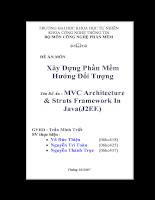 MVC architecture struts framework in java (J2EE)