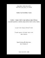 Tiểu thuyết dương hướng (từ Bến không chồng đến Dưới chín tầng trời)