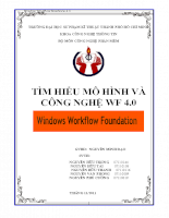 Tìm hiểu mô hình và công nghệ wf 4.0
