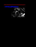 Các hư hongr của hệ thống đánh lửa điện tử