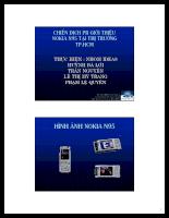 Chiến dịch PR tung sản phẩm Nokia N95 ra thị trường TP.HCM