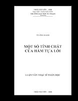 Một số tính chất của hàm tựa lồi .pdf