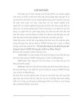 Kế toán bán hàng & xác định kết quả bán hàng tại Công ty TNHH Thương mại & dịch vụ Hồng Phong