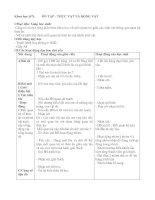 Giáo án Khoa học 4 tiết 67-68