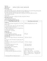 Giáo án Thể dục 4 tiết 67-68