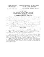 Quyết định Ban hành Quy định quản lý và sử dụng hệ thống thư tín điện tử tỉnh Vĩnh long