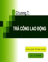C7.TRA CONG LAO DONG