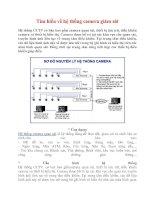 Tìm hiểu về hệ thống camera giám sát