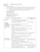 Giáo án Lịch sử 4 tuần 31