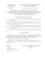 Quyết định  ban hành Quy định tạm thời về điều động, tuyển dụng, hợp đồng và chế độ chính sách đối với người làm quản trị mạng máy tính của các cơ quan hành chính Nhà nước tỉnh hà nam