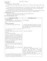 Giáo án tập đọc tiết 18