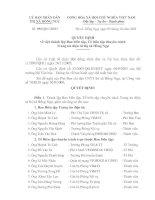 Quyết định về việc thành lập Ban biên tập, Tổ biên tập chuyên trách trang tin điện tử thị xã Hồng ngự