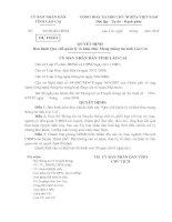 Ban hành Quy chế quản lý và khai thác Mạng thông tin tỉnh Lào Cai
