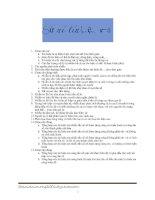 Tài liệu Đề cương xử lý tín hiệu số pdf