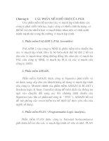Tài liệu Ứng dụng Vi mạch số lập trình, chương 6 pdf