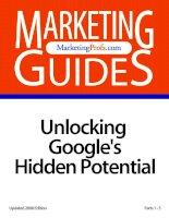 Tài liệu Unlocking Google''''s Hidden Potential doc