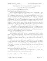 PHÂN TÍCH mối QUAN hệ CHI PHÍ   sản LƯỢNG   lợi NHUẬN tại CÔNG TY cổ PHẦN CAO SU đà NẴNG