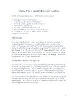 Tài liệu Java : Xử lý ngoại lệ pdf