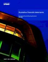 Tài liệu Illustrative financial statements - Minh họa báo cáo tài chính pptx
