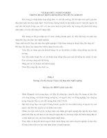 Tài liệu VỀ ĐẠO ĐỨC NGHỀ NGHIỆP TRONG HOẠT ĐỘNG KINH DOANH CHỨNG KHOÁN pdf