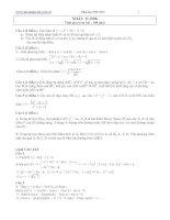 Tài liệu Bài tập toán ôn thi đại học khối D 2008 có lời giải hướng dẫn ppt