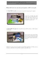 Tài liệu PLC Omron - Chương 1: Giới thiệu chung bộ CPM1 Training Kit pdf