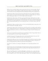 Tài liệu Điều kiện du lịch bền vững pdf