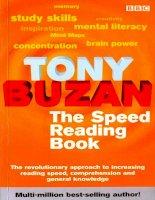 Tài liệu The Speed Reading Book - Tony Buzan doc