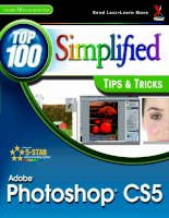 Tài liệu Customize Photoshop for Your Projects- P1 doc