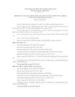 Tài liệu Hợp đồng nguyên tắc về tổng thầu xây dựng pdf