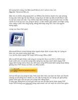 Tài liệu Bổ sung tính năng cho Microsoft Word với 3 add-in hữu ích doc