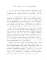 Tài liệu Tình hình kinh tế - xã hội 6 tháng đầu năm 2009 pdf