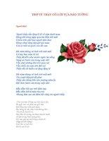 Gián án 100 Bài thơ về người thầy