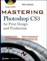 Tài liệu Mastering Photoshop CS3 for Print Design and Production P1 pdf