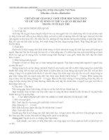 Bài giảng chuyen de giao duc gioi tinh